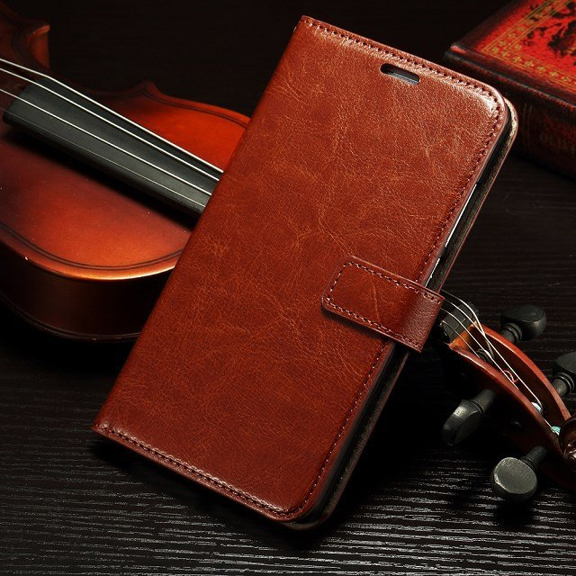 Retro Luxury Flip Pu Leather Case For Huawei Ascend Mate 7 Book St 32295540208-4-Brown