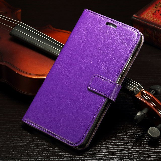 Retro Luxury Flip Pu Leather Case For Huawei Ascend Mate 7 Book St 32295540208-6-Purple