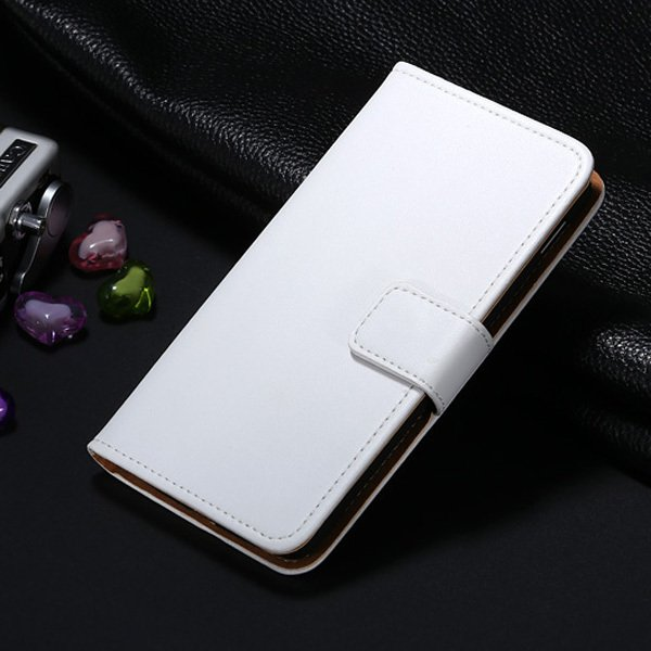 For Nexus 5 Genuine Leather Case Retro Luxury Flip Wallet Leather  32267030756-2-White