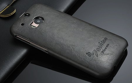 M8 Case Soft Feeling Wax Pu Leather Case For Htc One M8 Flip Cell  32267803160-4-Black