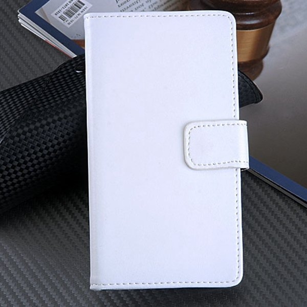 For Xperia L36H Case Korean Flip Style Genuine Leather Case For So 1788463912-2-white