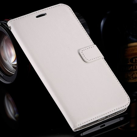 For Nexus 6 Leather Case Retro Cool Top Quality Pu Leather Wallet  32278149893-2-White
