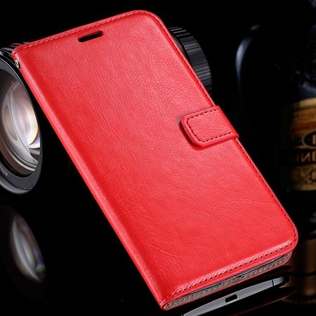 For Nexus 6 Leather Case Retro Cool Top Quality Pu Leather Wallet  32278149893-3-Red
