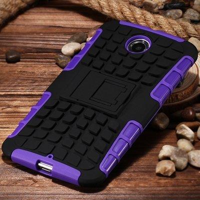 2 In 1 Style Rugged Heavy Duty Armor Case For Motorola Moto Nexus  32294434838-2-Purple