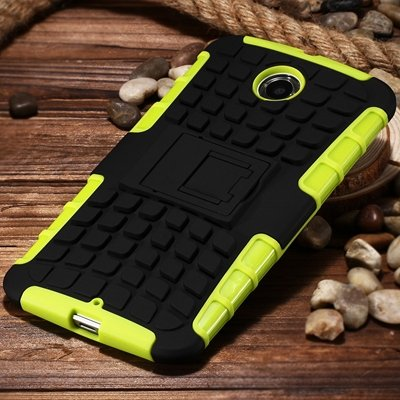 2 In 1 Style Rugged Heavy Duty Armor Case For Motorola Moto Nexus  32294434838-3-Green