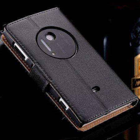 For Nokia 1020 Vintage Luxury Genuine Leather Case For Nokia Lumia 32288419749-1-Black
