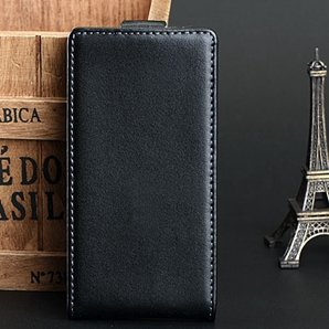 Vintage Luxury Vertical Flip Genuine Leather Case For Nokia Lumia  32271492578-1-Black