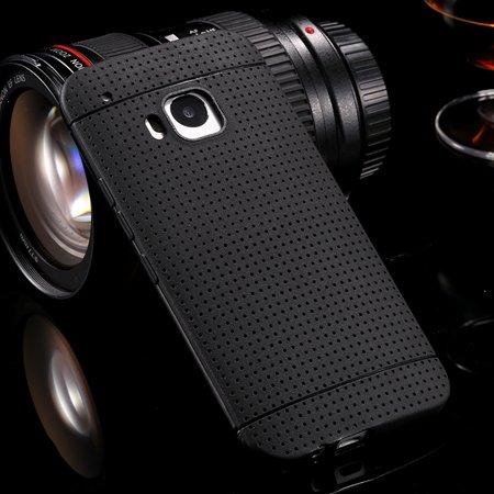 M9 Case Cute Polka Dot Silicone Soft Case For Htc One M9 Handy Sim 32305722338-1-Black