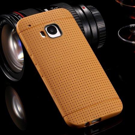 M9 Case Cute Polka Dot Silicone Soft Case For Htc One M9 Handy Sim 32305722338-7-Brown