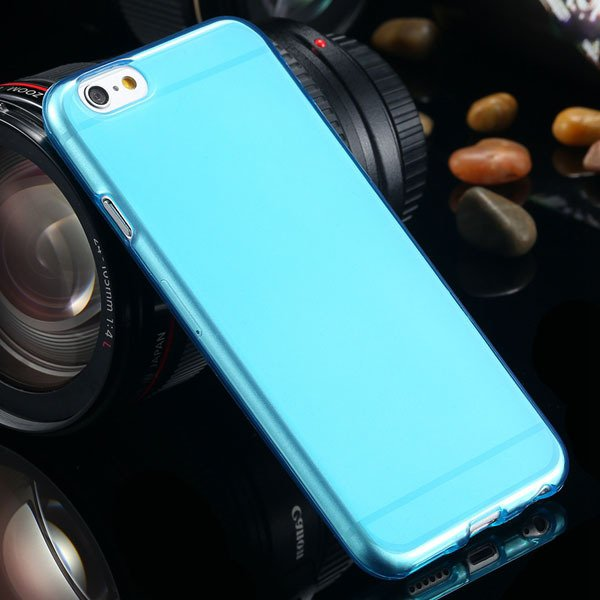 For Iphone 6 Clear Case Full Flip Cover For Iphone 6 4.7Inch Soft  2031725281-6-light blue