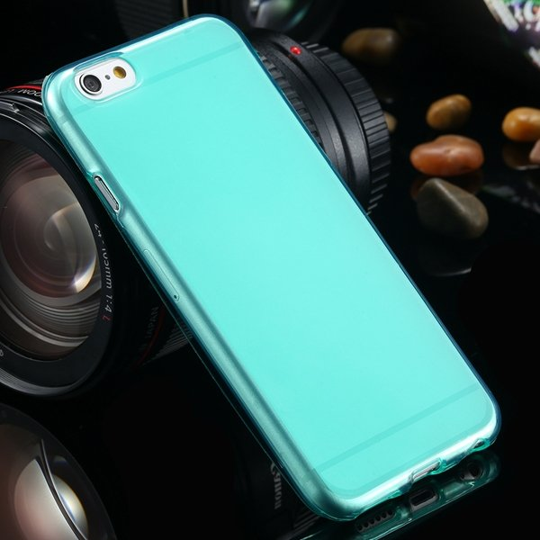For Iphone 6 Clear Case Full Flip Cover For Iphone 6 4.7Inch Soft  2031725281-7-cyan blue