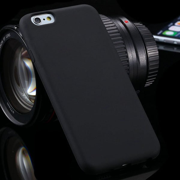 Super Soft Silicone Case For Iphone 6 4.7Inch Back Phone Cover Wit 2053581939-1-black
