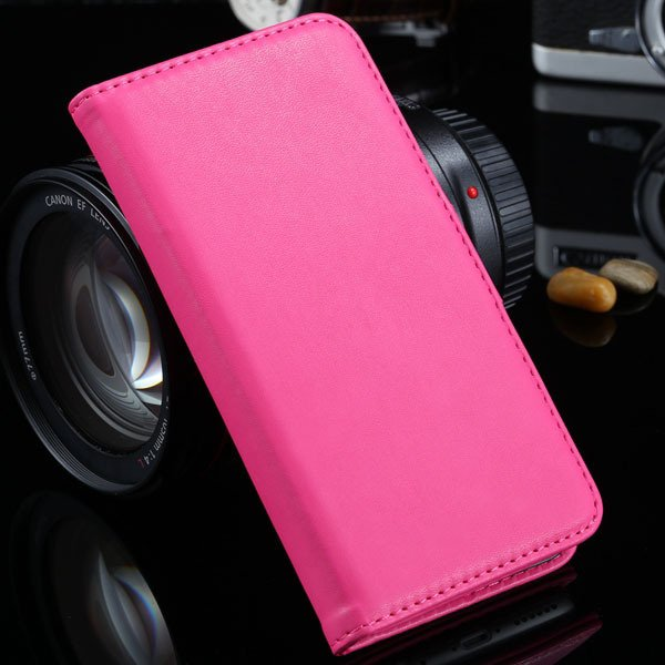 I6 Flip Case Photo Frame Pu Leather Cover For Iphone 6 4.7Inch Ful 2016906622-9-hot pink