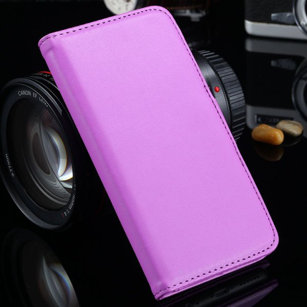 I6 Flip Case Photo Frame Pu Leather Cover For Iphone 6 4.7Inch Ful 2016906622-10-purple