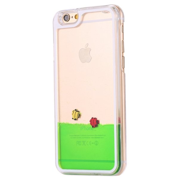 I6 Plus Flow Liquid Sand Glitter Quicksand Back Case For Iphone 6  32278056572-2-fish green