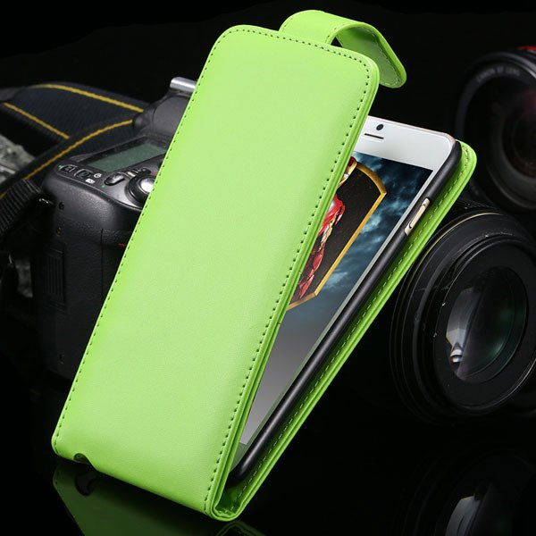 I6 Plus Pu Leather Phone Case Flip Cover For Iphone 6 Plus 5.5Inch 2026321114-4-green