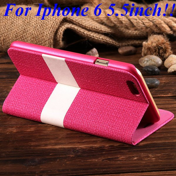 I6/6 Plus Luxury Original Brand Pu Leather Case For Iphone 6 4.7In 32276577085-7-rose for plus