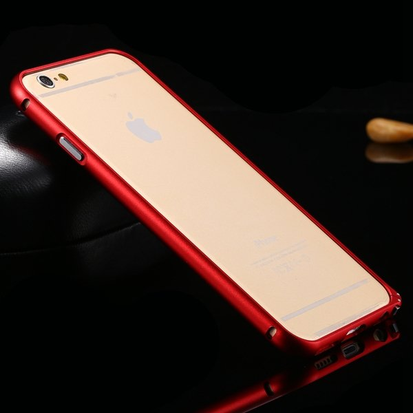 I6 Metal Frame Aluminum Case For Iphone 6 4.7Inch Slim Protective  32213754716-4-red
