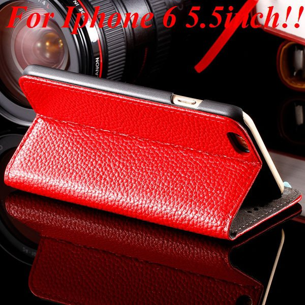 I6/6Plus Genuine Leather Case For Iphone 6 4.7Inch Full Protect Co 32236491521-2-red for plus