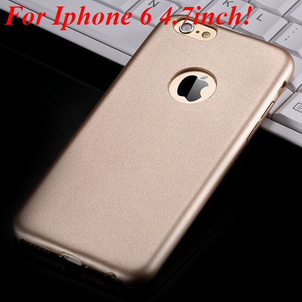 I6 Slim Case Original Ultra Thin Pu Leather Cover For Iphone 6 4.7 32261009616-6-gold for iphone 6