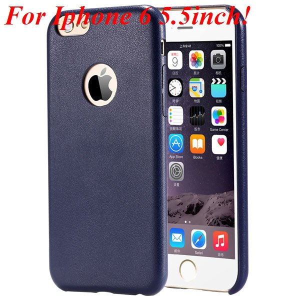 I6 Slim Case Original Ultra Thin Pu Leather Cover For Iphone 6 4.7 32261009616-13-blue for plus