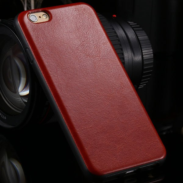 I6 Flexible Case Slim Shock-Proof Back Cover For Iphone 6 4.7Inch  2046835863-3-red