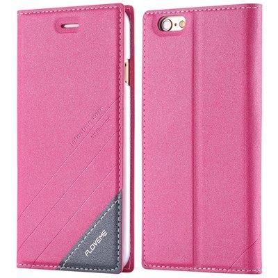 I6 Plus Flip Case Original Pu Leather Phone Cover For Iphone 6 Plu 32228979761-3-hot pink