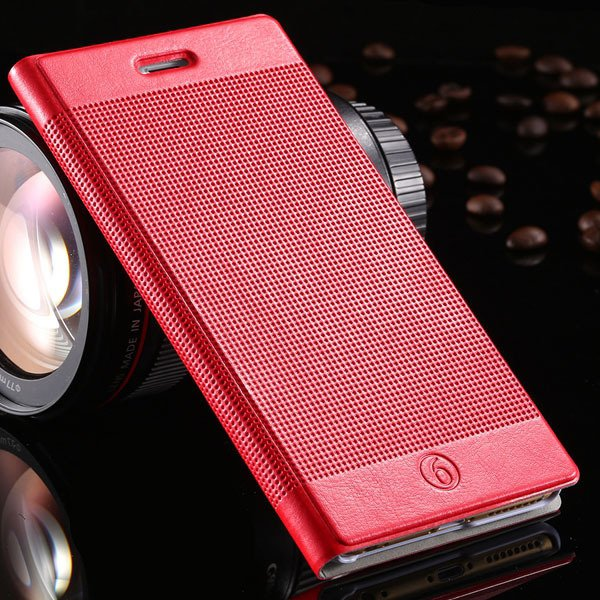 I6 Plus Pu Leather Case For Iphone 6 Plus 5.5Inch Full Protect Cov 32214482793-2-red
