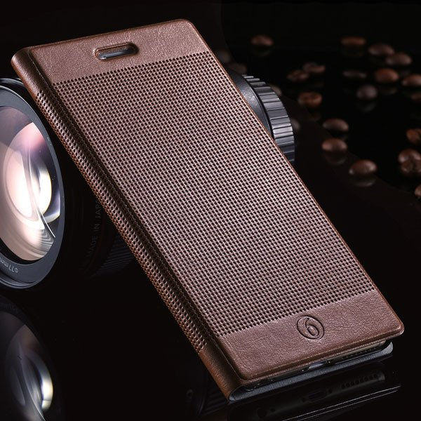 I6 Plus Pu Leather Case For Iphone 6 Plus 5.5Inch Full Protect Cov 32214482793-3-coffee