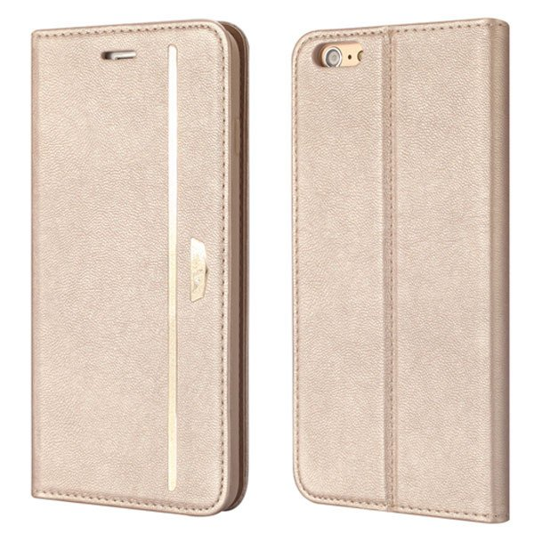 Flip Mobile Phone Cover For Iphone 6 4.7Inch Protective Bag Pomegr 32216439562-5-gold