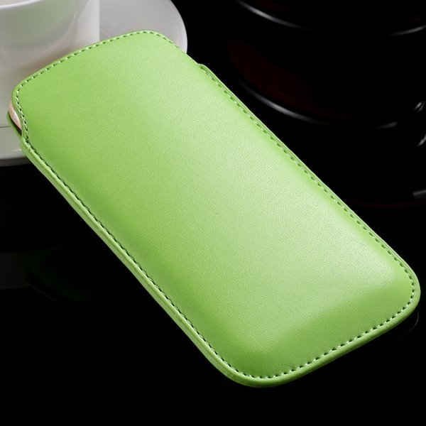 I6 Universal Mini Phone Case For Iphone 6 4.7Inch Pu Leather Cover 32261117883-5-green