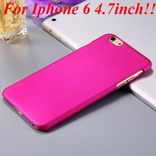 I6/6 Plus Slim Case Mat Lubricating Smooth Back Cover For Iphone 6 32281037773-9-rose for iphone 6