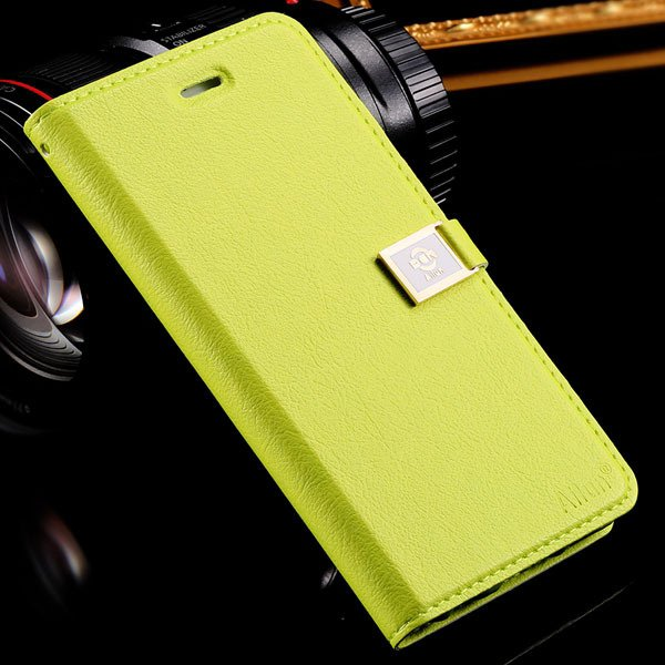 I6 Plus Full Protect Case For Iphone 6 Plus 5.5Inch Flip Cell Phon 32229045980-3-green
