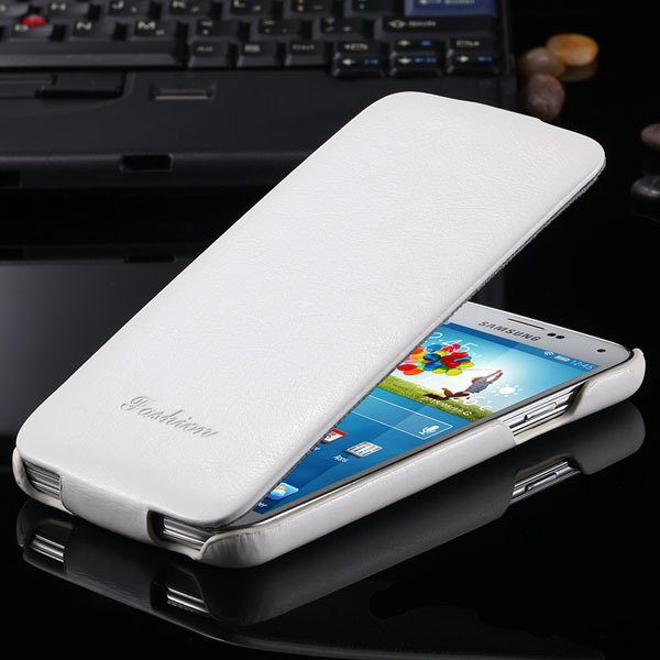 S5 Pu Leather Case Retro Flip Cover With Magnetic Buckle For Samsu 2024373909-2-white
