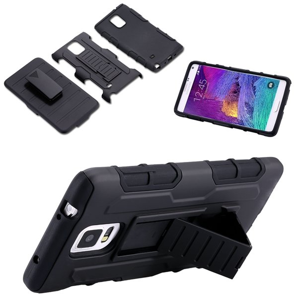 S5 Military Future Armor Case Heavy Duty Rugged Impact Holster For 32281852527-1-black
