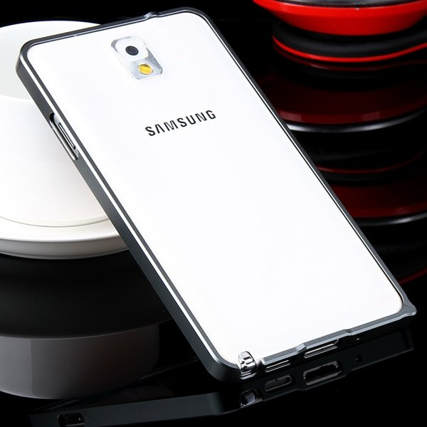 Luxury 0.7Mm Ultra Thin Slim Metal Frame Bumper For Samsung Galaxy 32247631233-1-black