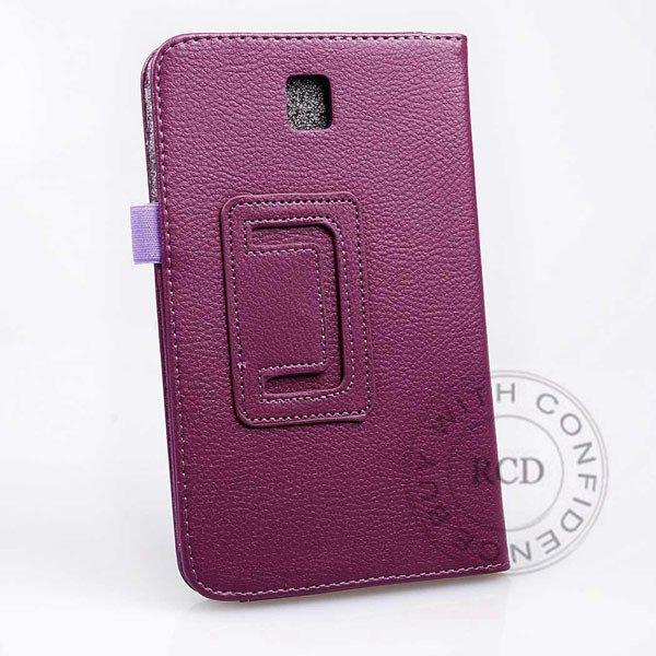 Flip Stand Full Case For Samsung Galaxy Tab 3 P3200 7.0 Elegant Pu 1138274901-7-purple
