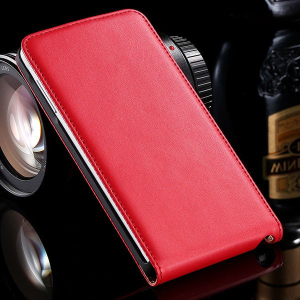 For Note 4 Genuine Leather Case Flip Cover For Samsung Galaxy Note 32269062618-3-red