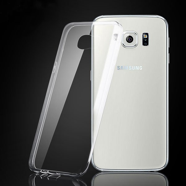 S6 Hard Pc Clear Case Crystal Plastic Back Cover For Samsung Galax 32297777500-1-clear
