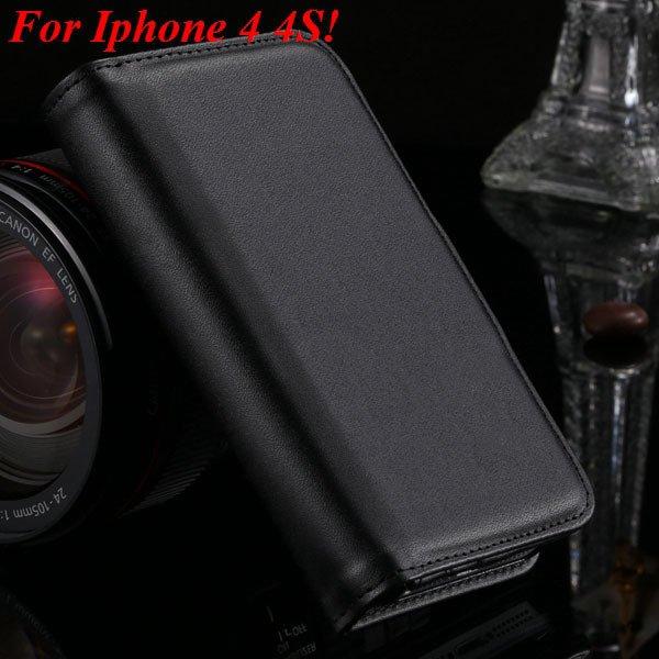 4S 5S Case Flip Folded Case For Iphone 4 4S 4G 5 5S 5G Multi-Funct 1881122372-1-black for 4s