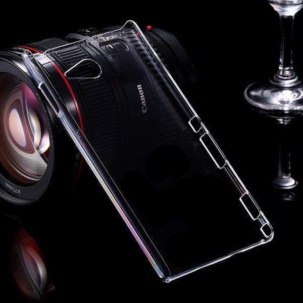 M2 Clear Case Crystal Transparent Capa Plastic Back Cover For Sony 32288854149-1-clear