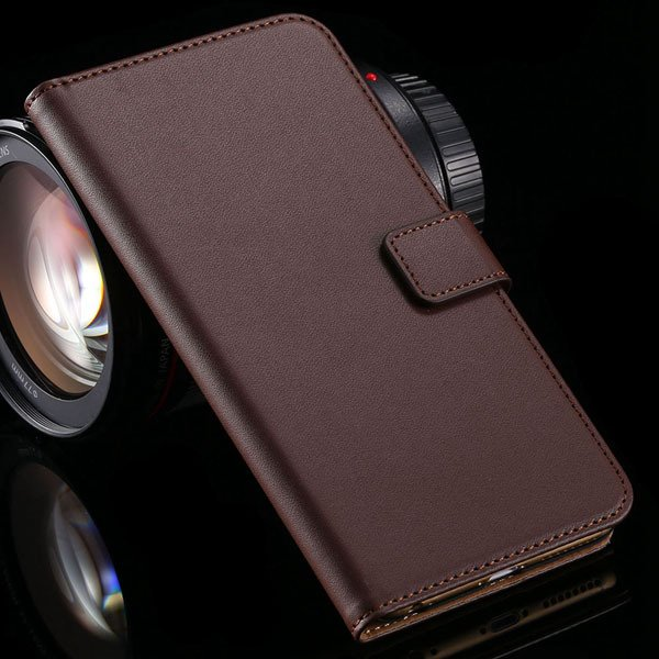 For Nokia 520 Flip Leather Case Full Protective Shell With Card Sl 32276151155-2-brown