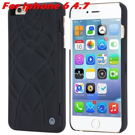 Fashion Lady Necessary 3D Water Flip Pu Leather Case For Iphone 6  32282429199-1-Black For Iphone 6