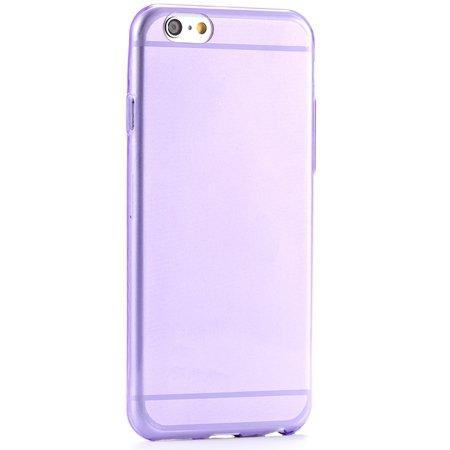Pure Simple Flexible Transparent Soft Tpu Case For Iphone 6 4.7Inc 2039047120-10-Purple