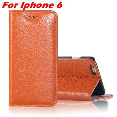 For Iphone 6 Plus Leather Case Luxury Lychee Pattern Pu Leather Ca 32259329563-6-Brown For Iphone 6