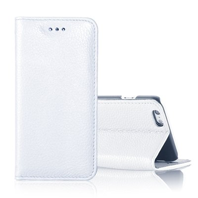 "Vintage Elegent Lychee Pattern Pu Leather Case For Iphone 6 4.7"""" F 32259828402-3-White"