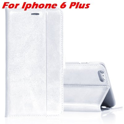 For Iphone 6 Leather Case Luxury Genuine Leather Case For Iphone 6 32266034858-3-White For I6 Plus
