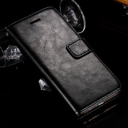 For Iphone 6 Filp Case Retro Luxury Men Women Pu Leather Case For  2045546292-1-Black
