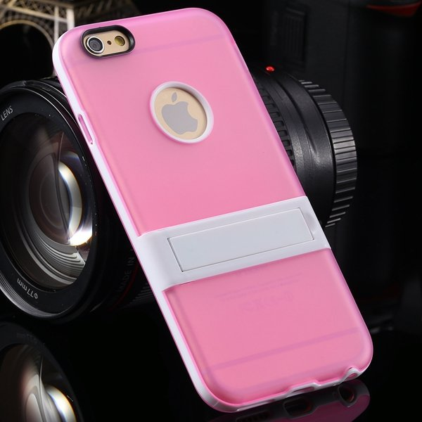 Amazing Triangle Bracket Case For Iphone 6 4.7'' Back Phone Shell  2046192931-8-pink