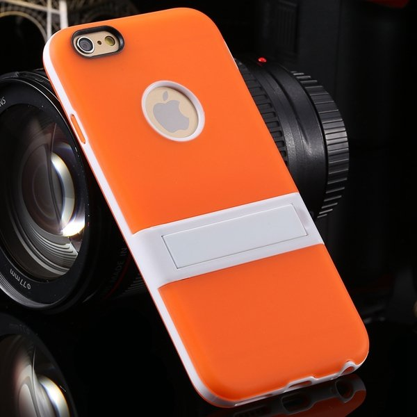 Amazing Triangle Bracket Case For Iphone 6 4.7'' Back Phone Shell  2046192931-10-orange